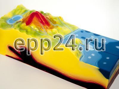 Модель Строение вулкана (малая)