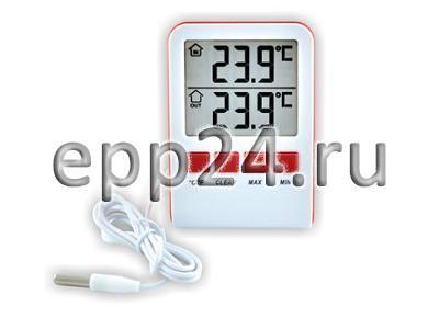 Электронный термометр с фиксацией максимального и минимального значений