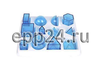 Набор прозрачных геометрических тел разборный