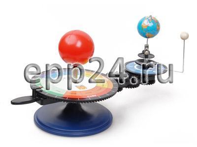 Теллурий. Трехпланетная модель (Земля, Солнце, Луна)