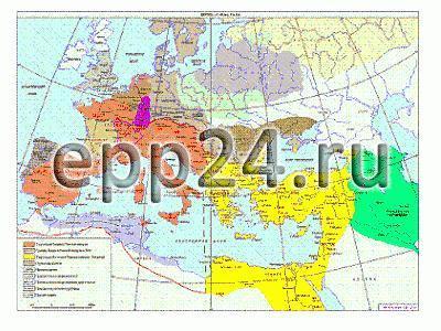 Карта Римская империя в 4-5 веках