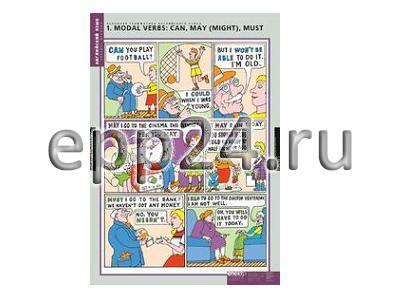 Комплект таблиц Основная грамматика английского языка (16 шт.)