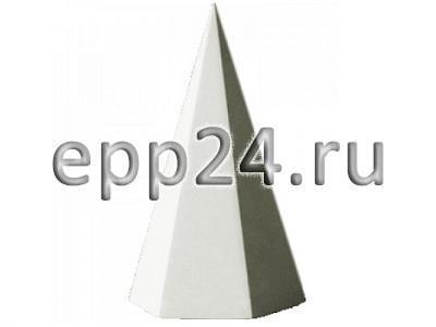 Гипсовая модель Пирамида шестигранная