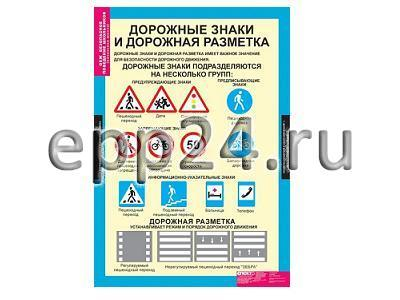 Комплект таблиц Безопасное поведение школьников (5 шт.)