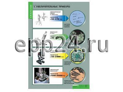 Комплект таблиц Вещества растений. Клеточное строение (12 шт.)