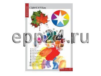 Комплект таблиц Введение в цветоведение (16 шт.)