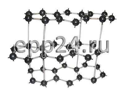 Кристаллическая решетка графита