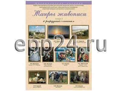 Набор репродукций Жанры живописи 2 выпуск