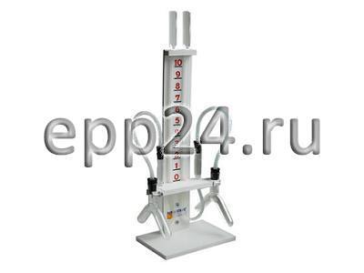 Прибор для демонстрации зависимости скорости химических реакций от условий