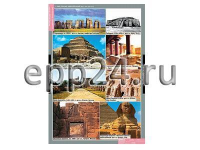 Таблицы Мировая художественная культура. Всемирная архитектура (20 шт.)