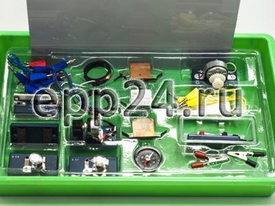 2.14.100 Комплект для лабораторного практикума по электричеству (с генератором)