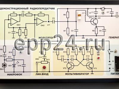 2.14.68 Комплект приборов для изучения принципов радиоприема и радиопередачи