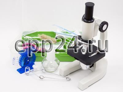 2.17.53 Биологическая микролаборатория с микроскопом и микропрепаратами
