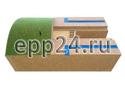 2.22.56 Макет простейшего укрытия в разрезе
