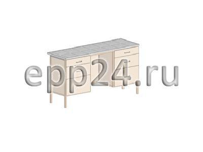 Стол лабораторный 1470х610х900 мм(2)