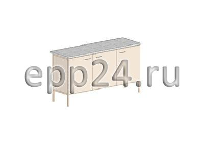 Стол лабораторный 1470x610x900 мм