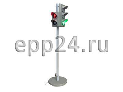 2.23.18. Электрифицированная модель транспортного и пешеходного светофоров